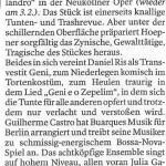 Opera do Malandro: Der Tagesspiegel 2. Februar 2013